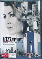 Grey's Anatomy Complete Fourteenth Season 14 DVD Region 4 NEW