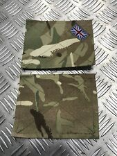 X2 Genuine British Military MTP Blanking Patches Panel Union Jack for UBACS/PCS
