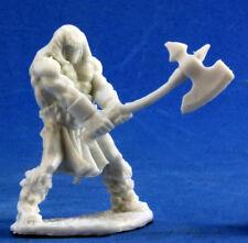 1 x Cuth Wolfson - Bones Reaper Figurine Miniature RPG JDR D&d Barbare Barbarian