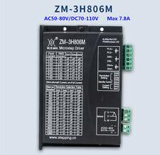 Three Phase Stepper Motor Controller 3h806m Drive Ac50 80vdc70 110v Max78a