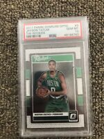 2017-18 Jayson Tatum PSA 10 Panini Optic The Rookies Rookie Rc #3 🔥