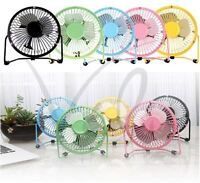 USB Fan Mini Portable Desktop Cooling Desk Quiet Fan Computer Laptop PC MAC Book