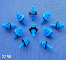 (2255) 10x BARRE ornamentali parentesi per Toyota Klip PER BARRE DECORATIVE BLU barra laterale