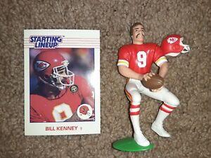1988 Bill Kenney Kenner Starting Lineup Kansas City Chiefs Loose