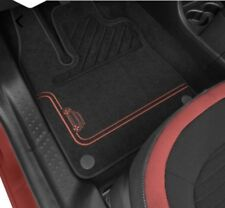 Tapis de sol textile Premium ganse rouge