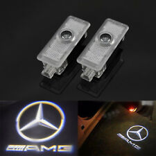 2X LED Logo door welcome laser Projector light For Mercedes-Benz CLS CLA C207
