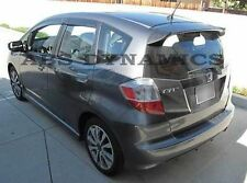 2009 2013 HONDA FIT GE8 SPOON Style Rear Trunk Spoiler Wing (ABS Plastic)