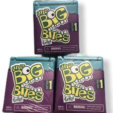 3 x Little Big Bites by Fur Real Hasbro Series 1 NIP Sealed