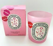 Diptyque ROSAVIOLA Empty Candle Jar & Original Box