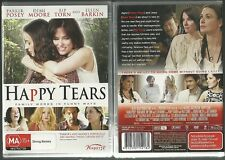 HAPPY TEARS PARKER POSY DEMI MOORE RIP TORN ELLEN BARKIN WONDERFUL NEW DVD