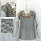 Medieval Lorica Hamata Roman Knight Steel 16g Butted Chainmail Armor Size Large