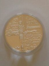 2002 Gold Silver Proof 1oz £5 Five Pound Coin. Queens Jubilee -  Head of State