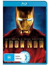 Iron Man (Blu-ray, 2008) (2 Disc Set)