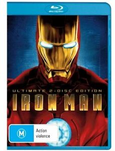 Iron Man Ultimate 2 Disc Edition Free Post