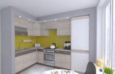 NEU Küche SEVILLA Braun 165x225 cm Küchenzeilen Küchenmöbel Einbauküche