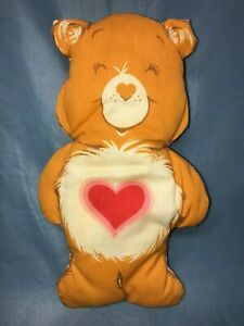 Vintage Hand Made Tenderheart Care Bear Decorative Pillow Plush Stuffed Animal
