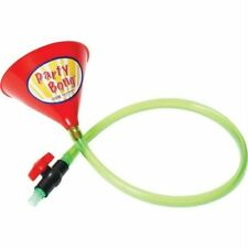 Party Bong Single Beer Bong Funnel with Valve and 40 Tube, Large