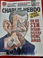 CHARLIE HEBDO 29/07/2020 - No 1462 - Couv..FELIX - PUTAIN de virus - Comme NEUF