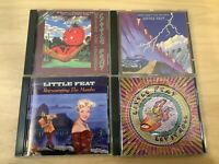 LITTLE FEAT CD Lot - Let It Roll - Waiting For Columbus - Rep The Mambo - Feats