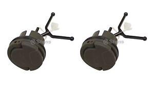 2 Pack Fuel Cap Fits Husqvarna 522620001 455 Rancher II 550XP 555 562XP 536LiXP