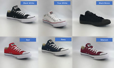 Original Converse All Star Chuck Taylor Canvas Shoes Low Top Brand New