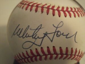 Whitey Ford Autographed official American League Baseball