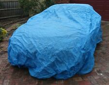 Blue car cover (medium size) - currently used for Mazda MX5