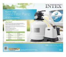 Intex 26651EG Krystal Clear 3000 GPH Above Ground Swimming Pool Sand Filter Pump