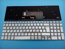 For Sony VAIO Svf152a29v SVF1521B1EW SVF15E SVF15N17CXB Spanish Keyboard Backlit