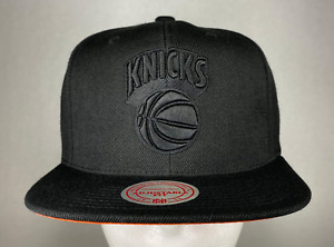 Mitchell and Ness NBA New York Knicks HWC Team Solid Snapback Hat, Cap, New