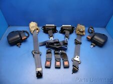 88-91 Civic OEM front & rear seat belts & lap belts STOCK factory 4 door blue *