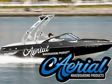 New listing New Aerial Wakeboard Tower Freeride Tower Polished Aluminum Forward Facing