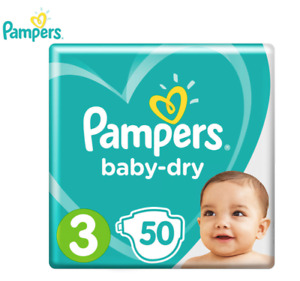Pampers Baby Dry Crawler Size 3 6-10kg Nappies - 50 Pack