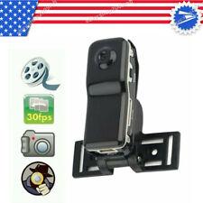 Md80 Mini Camera Hd Sport Motion Detection Dv Dvr Thumb Recorder Webcam W/Holder