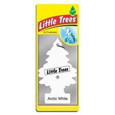 4 X pequeño árbol Mágico Ambientador Coche Blanco Ártico Freshner 2D
