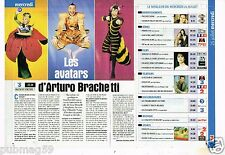 Coupure de presse Clipping 2001 (1 page et 1/4) Arturo Brachetti