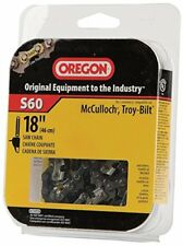 Oregon 18-Inch Semi Chisel Chain Saw Chain Fits McCulloch, Troy-Bilt S60