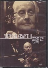 New DVD  - Stephane Grappelli Live At The Warsaw Jazz Festival 1991