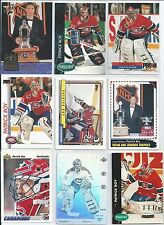 Patrick Roy  All Different 25-Lot of Inserts & Base Cards  All Montreal  Lot #2