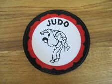 "3 3/4"" JUDO EMBROIDERY PATCH--007"