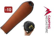 OZTRAIL OUTER LIMITS MICROSMART 360 -10 DEGREES SLEEPING BAG (LEFT) -RUST