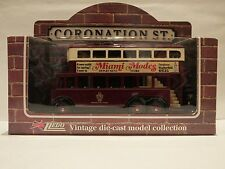 LLEDO LP41 098 1928 KARRIER TROLLEY BUS - WEATHERFIELD TRANSPORT- CORONATION ST.