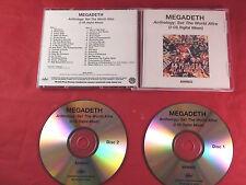 Megadeth / USA 2CD advance acetatepromo / Anthology 2008