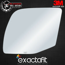 Driver Side Mirror Glass Fit Ford E-150 E-250 E-350 Super Duty Power Replacement