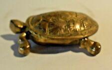 C16 Cendrier de poche collection  tortue art déco art nouveau old ashtray