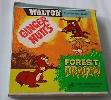8mm Walton Movie Film Standard 8 Ginger Nutt's Forest Dragon Colour Sound