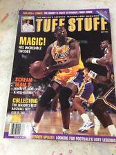 Tuff Stuff basketball magazine price guide Magic Johnson May 1996
