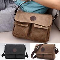 Herren Tasche Canvas Vintage-Handtasche Schultertasche Umhängetasche Messenger