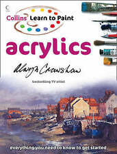 Learn to Paint: Acrylics by Alwyn Crawshaw (Paperback, 2008) #eblft NEW