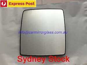 RIGHT DRIVER SIDE HOLDEN COMBO XC 2002 - 2013 MIRROR GLASS WITH BASE